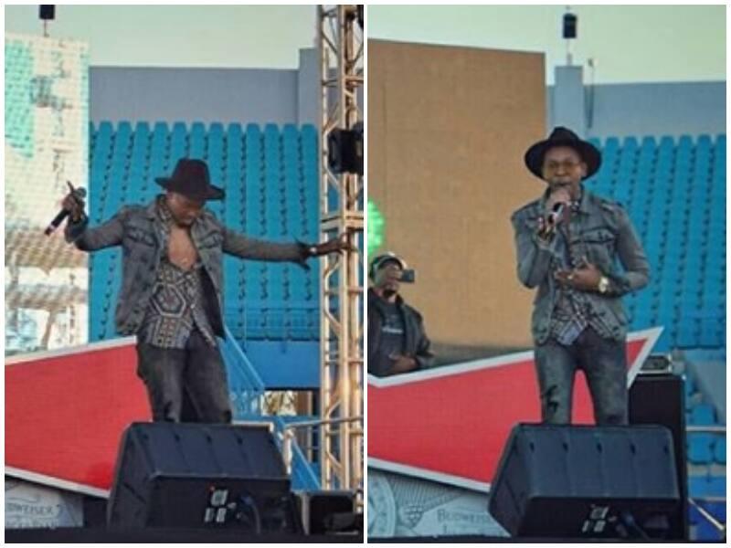 Soulful Lungisa Xhamela was on fire in Botswana