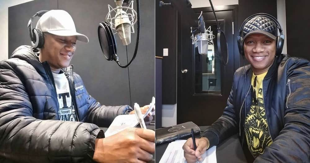 'Idols SA' host, Proverb, bags, new presenting gig, 'The Property Game'