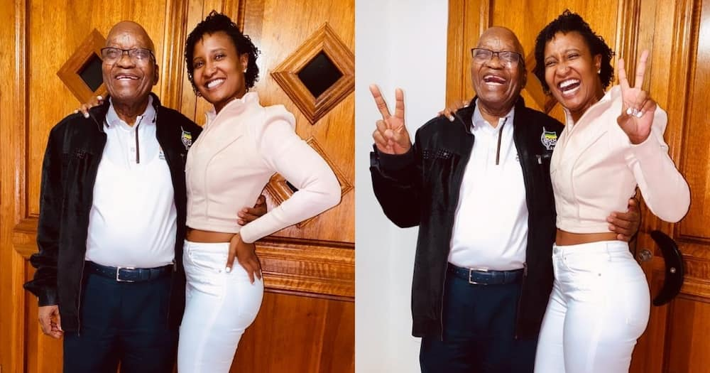 Duduzile Zuma-Sambudla, renames, ANC, 'Apartheid National Congress'