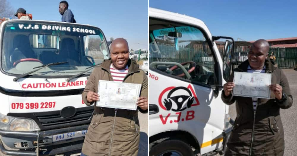 Woman, Driver's license, passed, Mzansi, congratulates, Twitter reactions