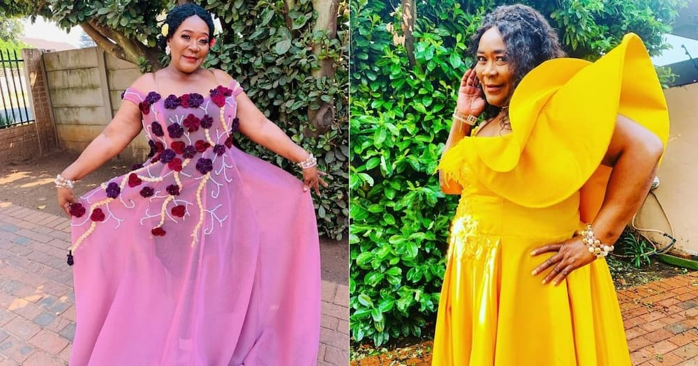 Mzansi celebs shower Connie Chiume with love on her 69th birthday