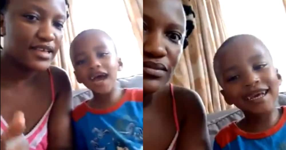 Creative SA Mom Teaches Son Vowels by Using Beat of Amapiano Song