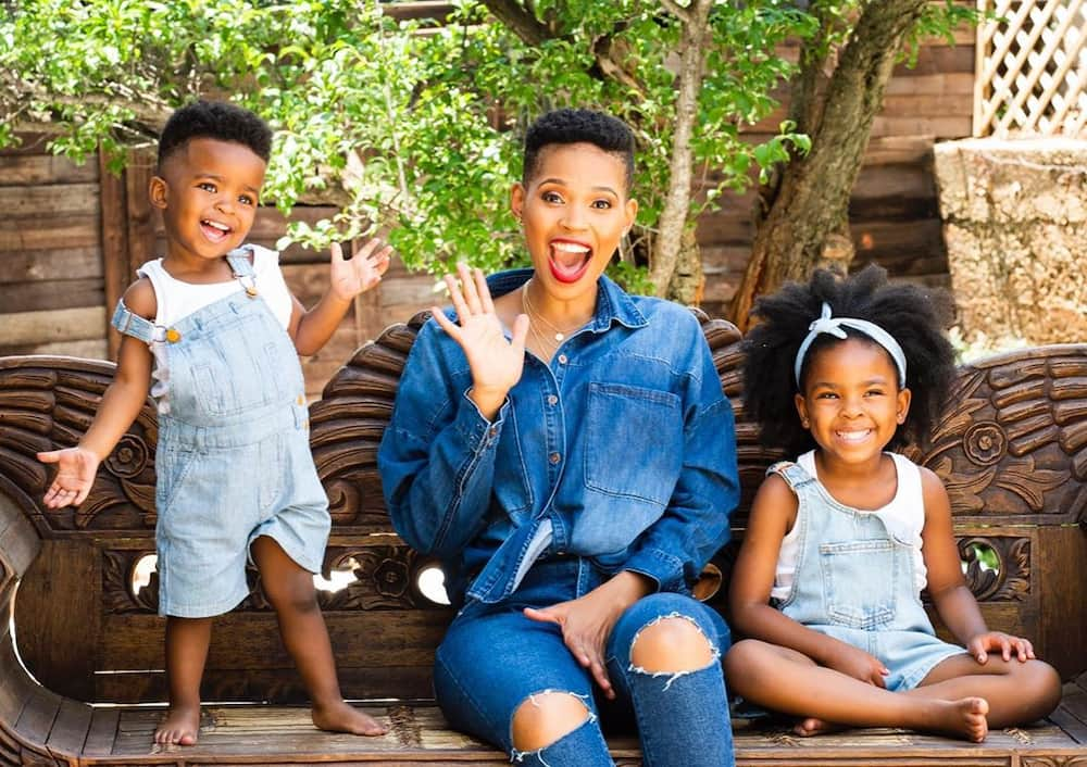 Cute photos of SA celebrities and their babies 2020