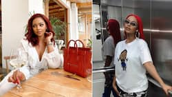 Sembi: Influencer Mihlali Ndamase upset wig got stolen at the airport