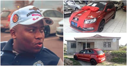 Ex-taxi driver shows off his 2018 achievements: A new whip and home