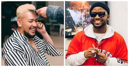 Cassper ends tweep for throwing shade over him dancing to AKA's song