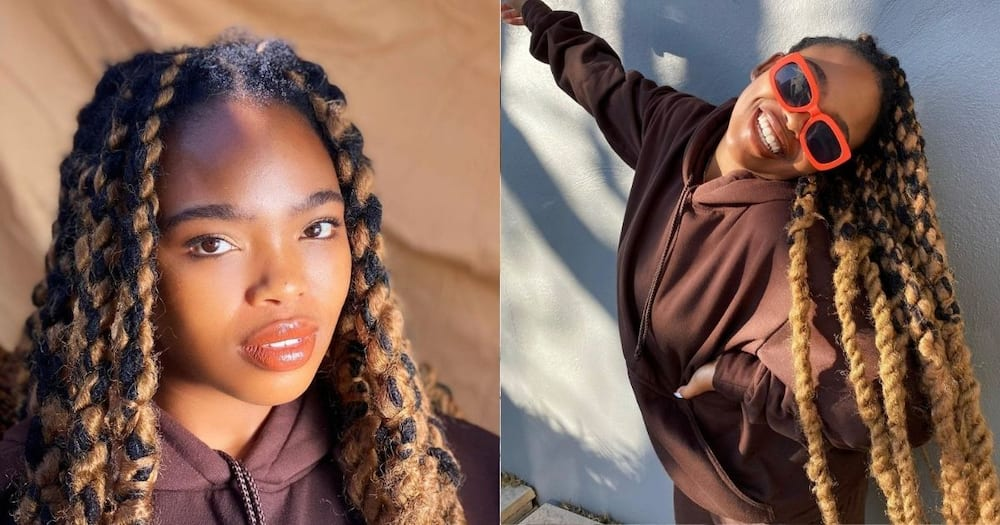 Rosemary Zimu not impressed by ladies sliding into her bae's DMs