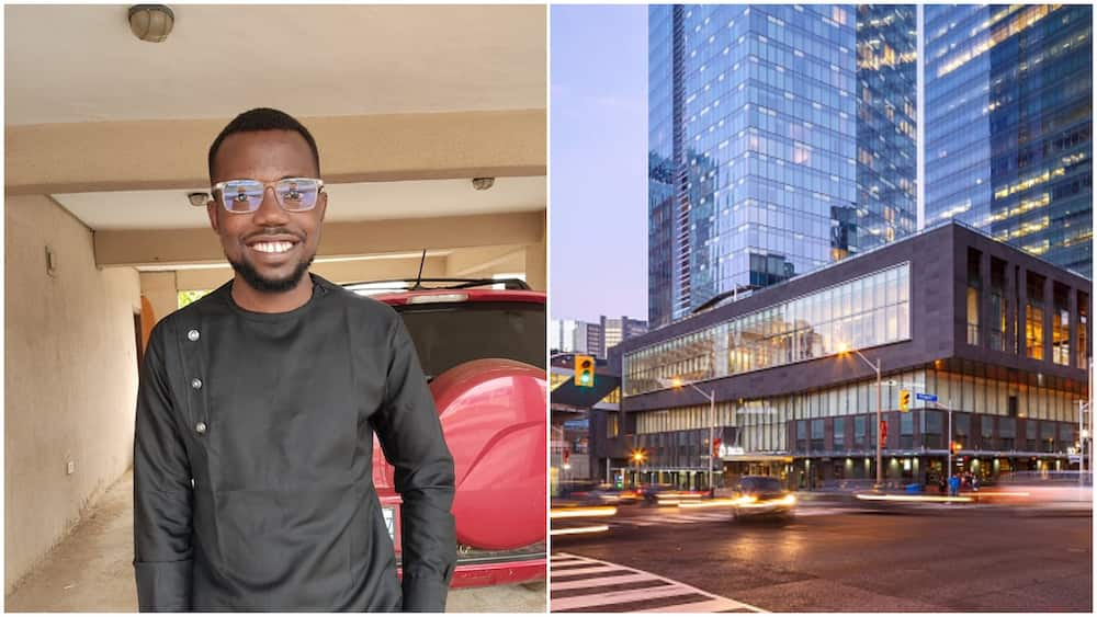 Joy as young man gets a big job in Canada while still in Nigeria, people congratulate him