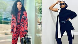 Nomzamo Mbatha glows as she takes the cover of Bulgarian 'Glamour'