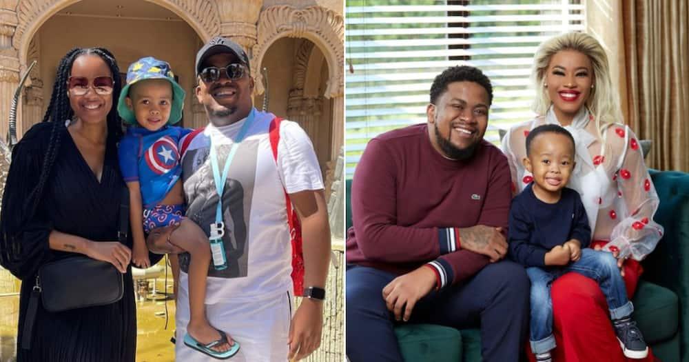 JR and Tshepi Vundla, Sibabalwe, son, birthday, 4