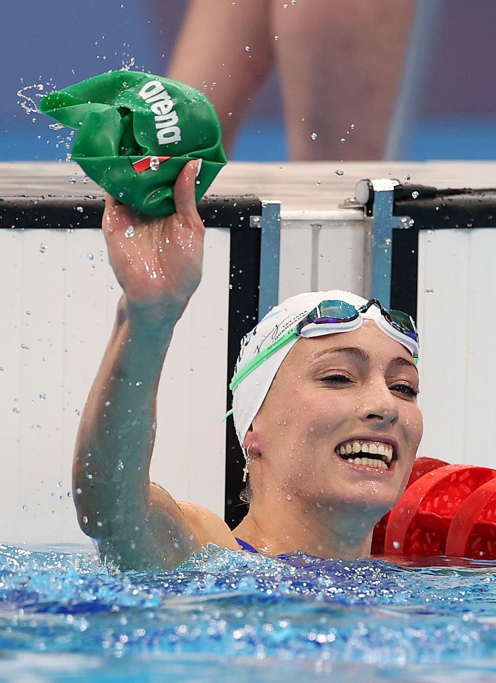 Tatjana Schoenmaker's Olympic record