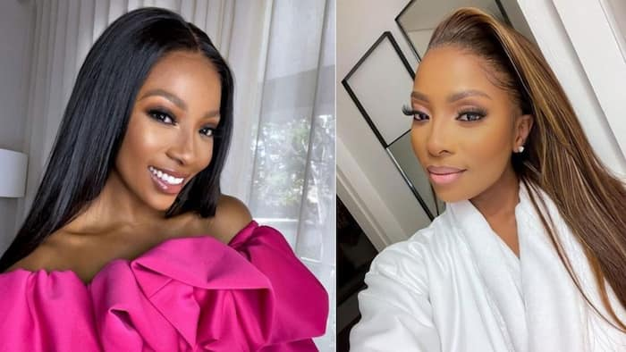 Pearl Modiadie: Fans worried about red eye in video, star explains how she got it