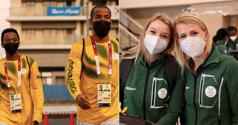 Team South Africa, Tokyo Olympics, list of participants