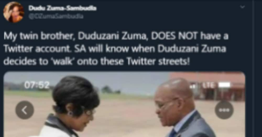 Fact check: Duduzane Zuma Twitter account confirmed a fake