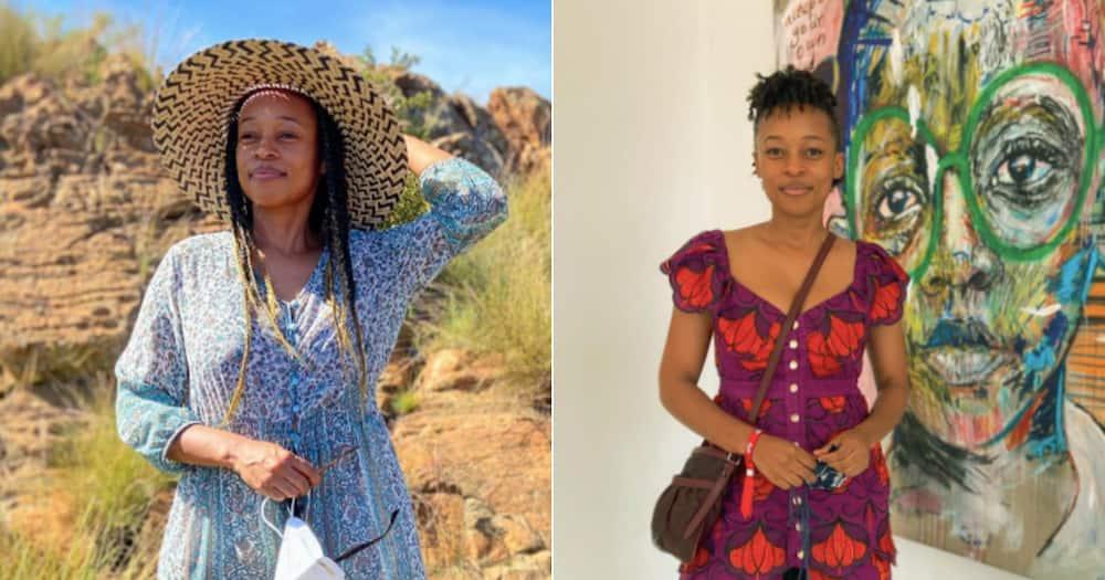 Halala: Mmabatho Montsho celebrates accomplishment of bagging Masters degree