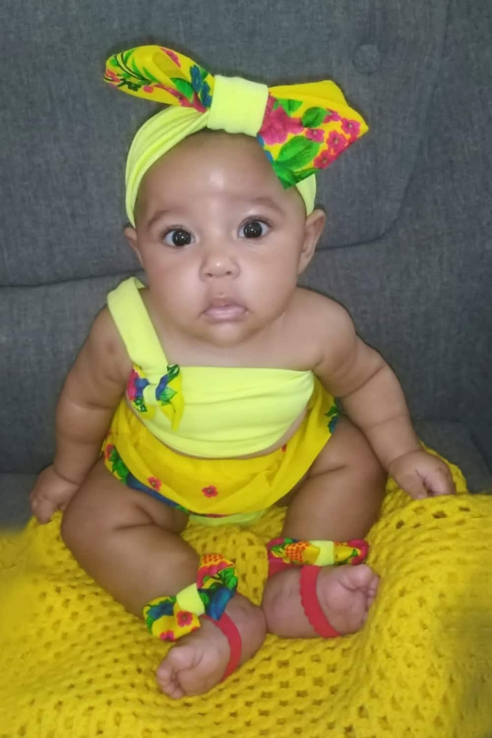 3 adorable babies celebrating heritage month in traditional attire