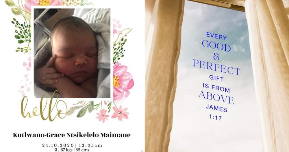 Mmusi Maimane welcomes new addition to the family, baby girl Kutlwano