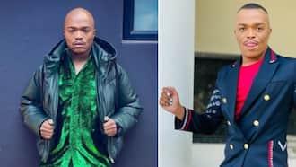 Somizi Mhlongo discusses questionable Mzansi Olympic team attire, safari dress up ain't a vibe