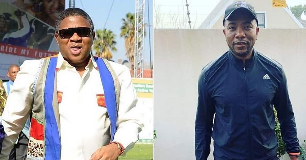 """Mbalula says ANC has come a long way, Maimane reacts: """"Wrong way"""""""