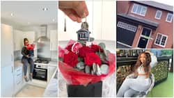 God did it: 22-year-old lady buys a house, photos of new home stir reactions