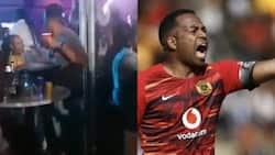 Itu Khune trends after clip of him wasted at a groove gets shared online