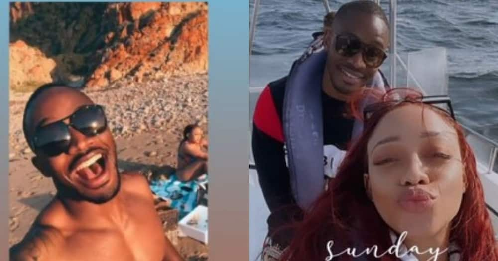 Inside Thando Thabethe's Romantic Birthday Getaway With Lunga Shabalala