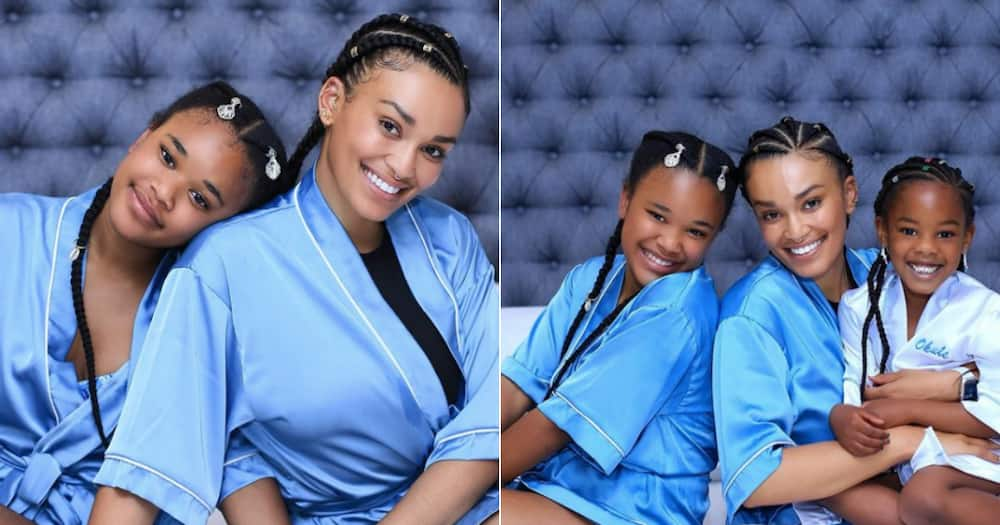 Pearl Thusi celebrates her daughter Thando's 13th birthday in style