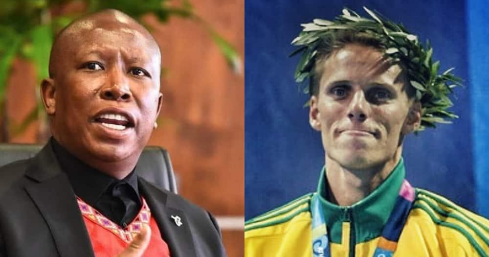 Mzansi, EFF, Roland Schoeman, sports minister bid