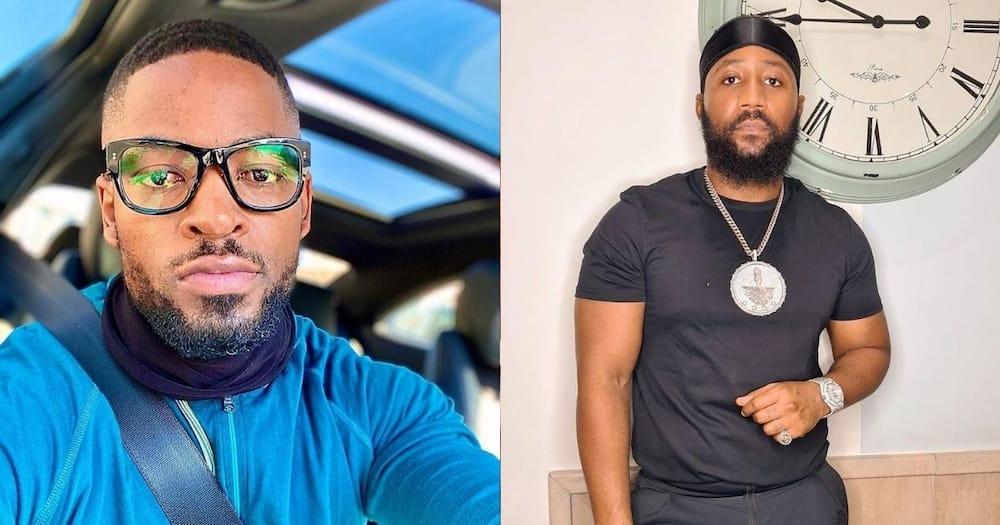 """Prince Kaybee jokes about Cassper beef: """"An inspiring Tswana man"""""""