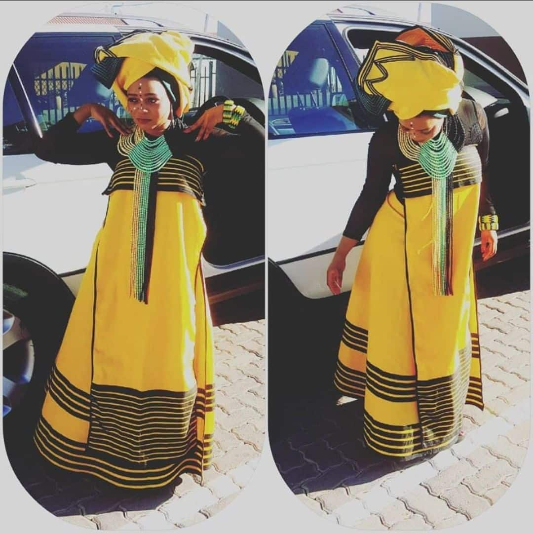 Xhosa Traditional Dresses For Weddings