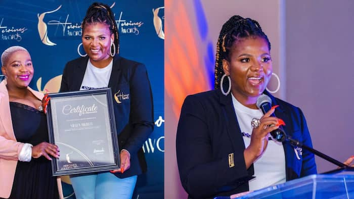 Shauwn Mkhize honoured with Heroines Award for her contribution to sport