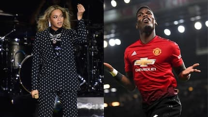 Who is more popular - Beyonce or Manchester United star Paul Pogba?