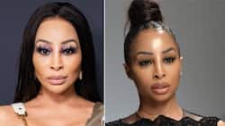 Khanyi Mbau teases new song about leaving men in Dubai, peeps unimpressed