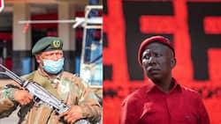 "Julius Malema vs SANDF: EFF leader says he's ""not scared of rubbish"""