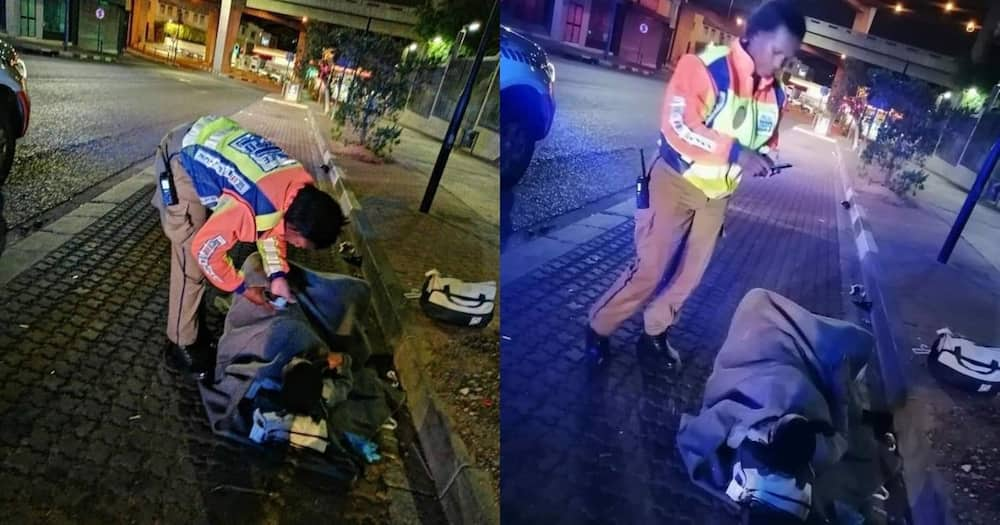 Metro cop helps mother in labour deliver baby on pavement