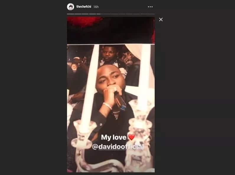 Davido's girlfriend Chioma shares photos from her 23rd birthday album