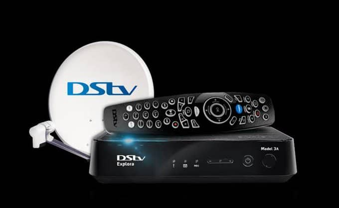 how to change my dstv package online