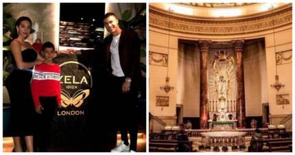 Cristiano Ronaldo and partner Georgina go wedding venue hunting