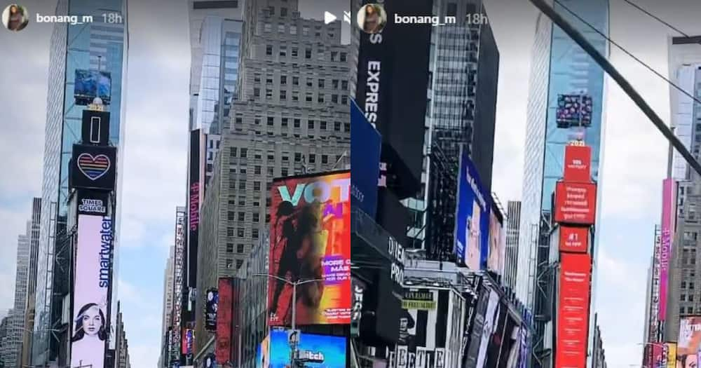 Bonang Isn't Just Visiting New York, She's Relocated and Didn't Even Say Goodbye