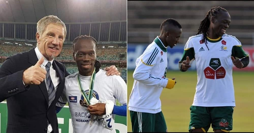 Ex Kaizer Chiefs, Reneilwe Letsholonyane, Retirement Hint, Soccer Shirts