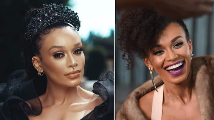 Pearl Thusi publically calls out the DA for trying to contact her, not today, not here, not ever
