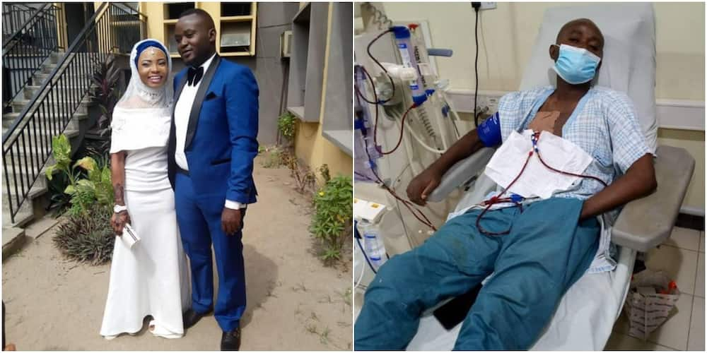 Over N2.5m raised under 12 hours for woman whose husband needs transplant