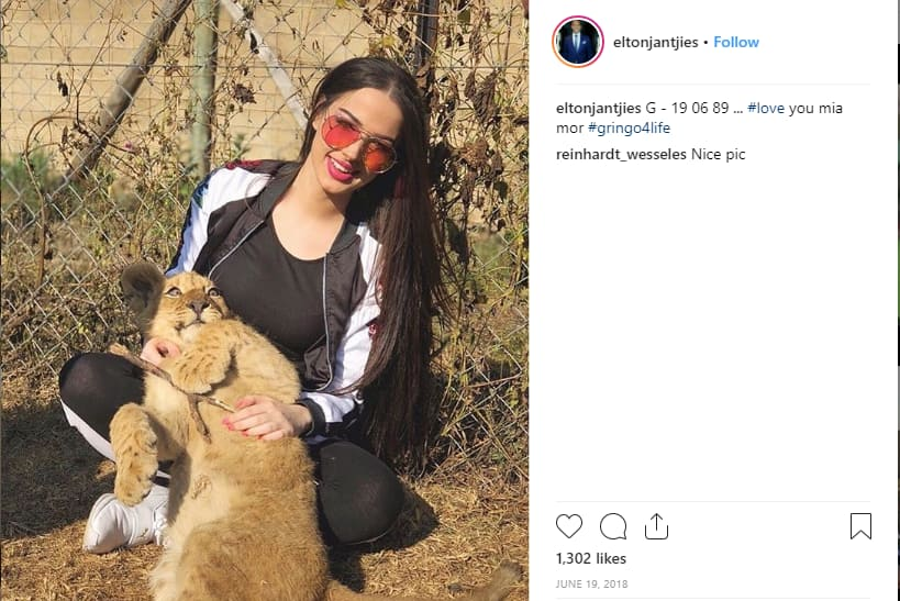 Elton Jantjies wife Iva Ristic age