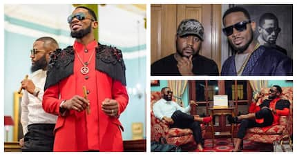 Could it be? A Cassper Nyovest and D'banj collab in the making