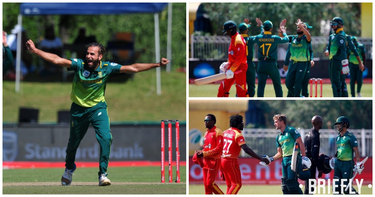Tahir spins circles around Zimbabwean batsmen to seal Proteas victory in T20I