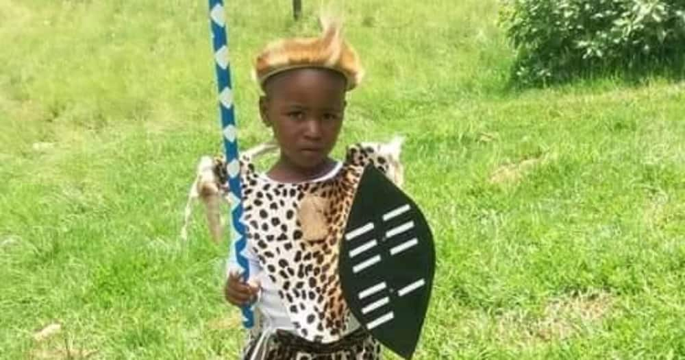 Gushing mom shares super adorable pic of her little Zulu boy