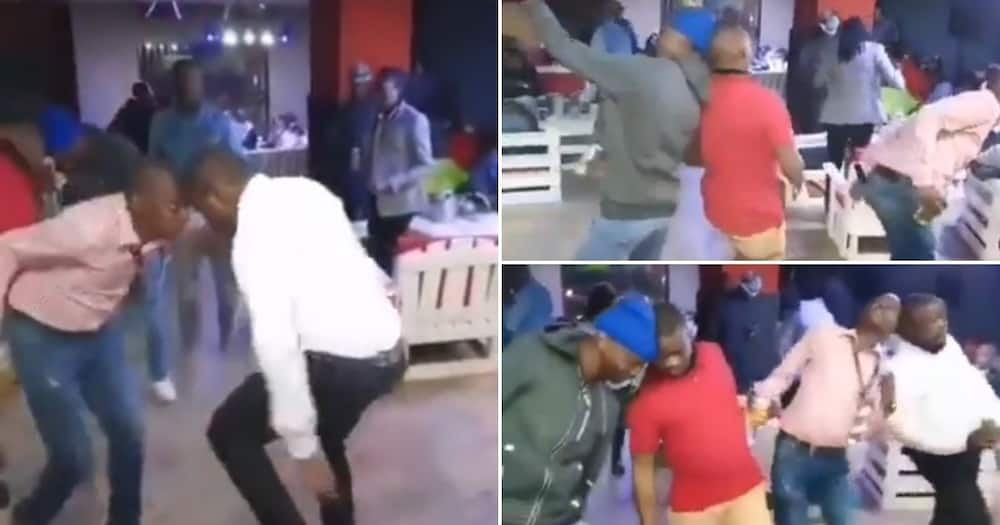 Video shows men dancing with heads pressed together, SA can't deal