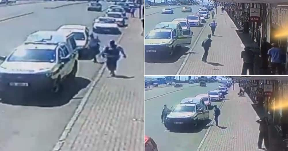 Video shows cops letting robbers slip away and Mzansi can't deal
