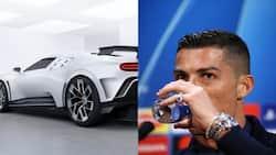 Cristiano Ronaldo splashes R16 million on limited edition Bugatti