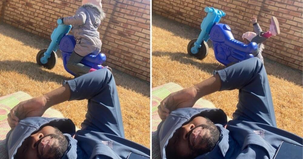 Dad, Captures, Funny Pic, Kid, SA